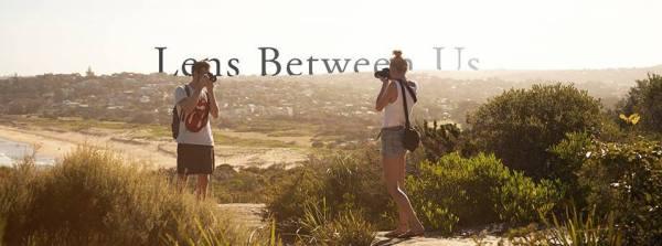"""Peter Sedláčik and Žužu Suzan Gálová are photographing each other for their photoblog """"Lens Between Us"""". Image by Milos Mlynarik."""
