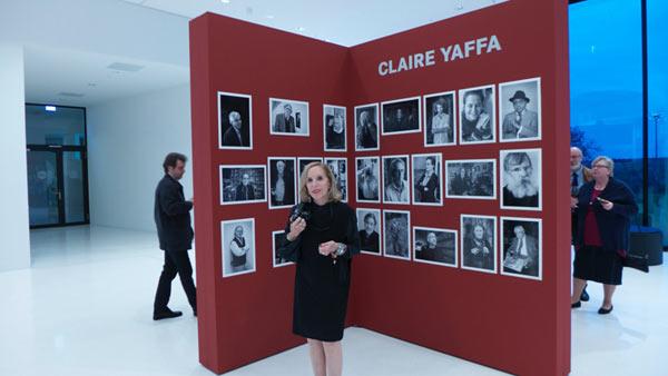 Claire Yaffa: 100 Fotografen – 100 Porträts ('100 photographers – 100 portraits') exhibition. Image by Leica.