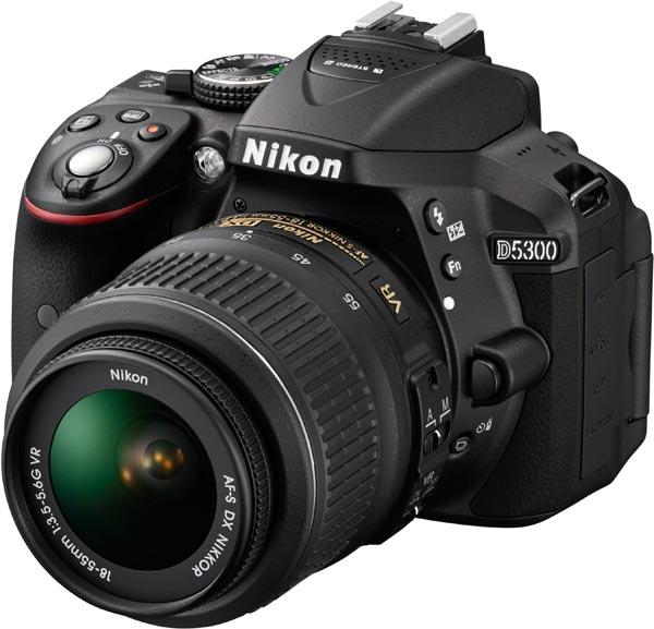 Nikon D5300, black
