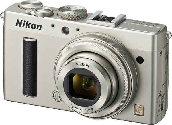 Nikon COOLPIX A, silver