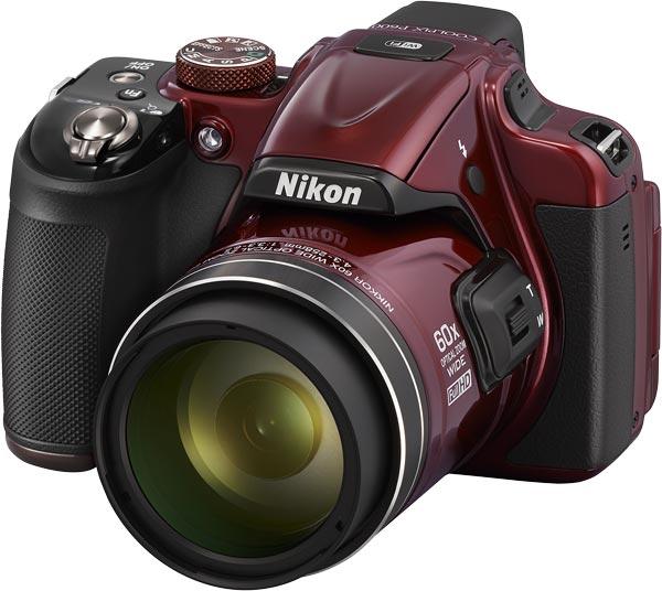 Nikon COOLPIX P600, red