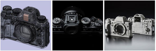 Exterior of X-T During the Development Process: Image by Fujifilm