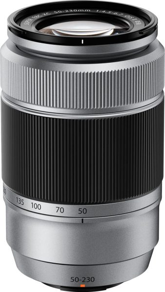 FUJINON XC50-230mm II (76-350mm) F4.5-6.7 OIS zoom lens