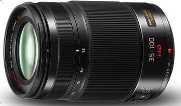 LUMIX 35-100mm lens: H-HS35100