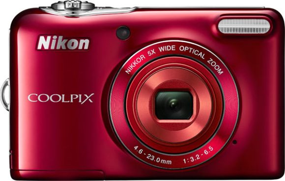 COOLPIX L32, red