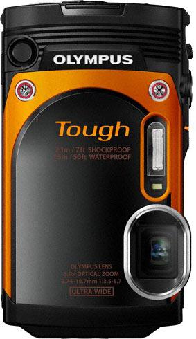 Olympus Stylus Tough TG-860, orange