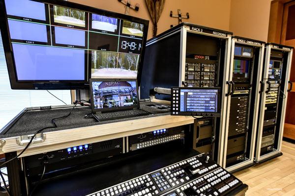 Portable broadcast 'fly packs': NJPAC image