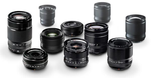 FUJINON XF lenses