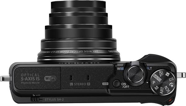Olympus Stylus SH-2, black