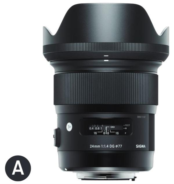 Sigma 24mm F1.4 DG HSM Art with Lens Hood (LH830-03)