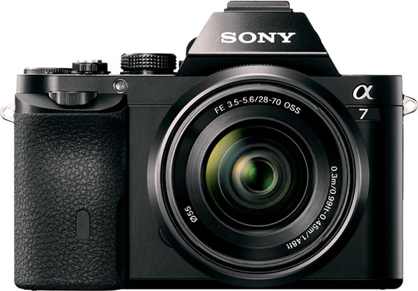 Winner's prize: Sony α7 Digital Imaging Kit with 28 –70 mm Lens camera