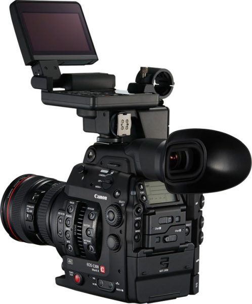 Canon EOS C300 Mark II; 4K