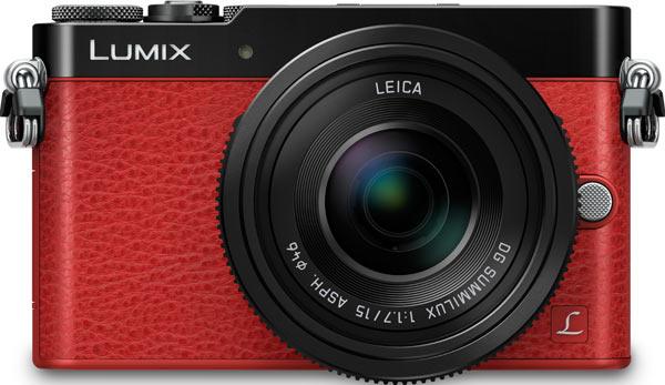 Panasonic LUMIX DMC-GM5, red