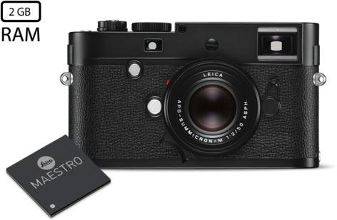 Leica M Monochrom (Typ 246): Leica Maestro image processor