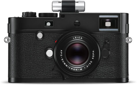 Leica M Monochrom (Typ 246) with ptional Leica microphone adapter set