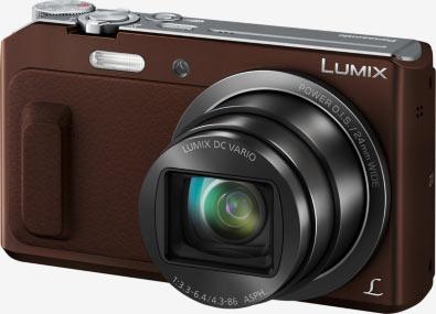 Panasonic Lumix DMC-TZ57 or DMC-TZ58 (in certain countries), brown