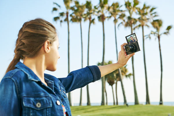 Sony WX500: Image by Sony
