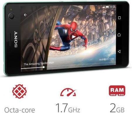 Sony Xperia C4: mint colour