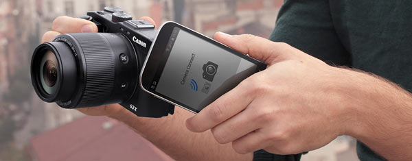 Canon G3 X is equipped with Near Field Communication (NFC™), allowing for quick and simple pairing to compatible Android devices.