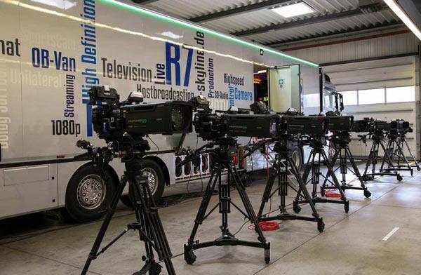 Fujinon lenses for broadcast television production: Image Courtesy of Fujifilm