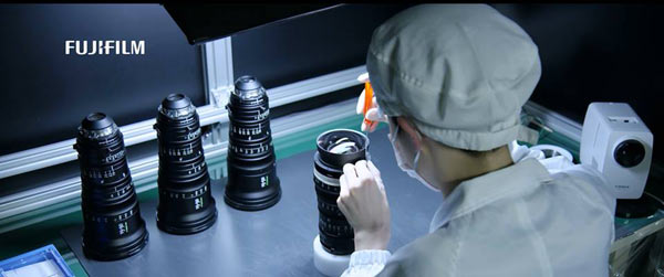 Fujinon digital Cinema lenses