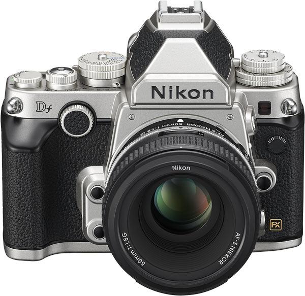 Nikon Df, silver