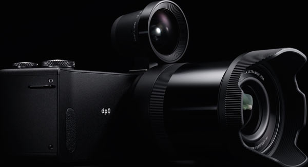SIGMA dp0 Quattro with Optical Viewfinder VF-51