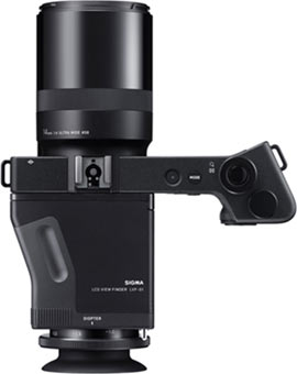 SIGMA dp0 Quattro with LCD View Finder Kit