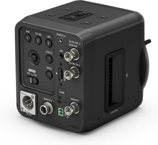 Canon Ultra-High-Sensitivity Multi-Purpose Camera ME20F-SH (back)