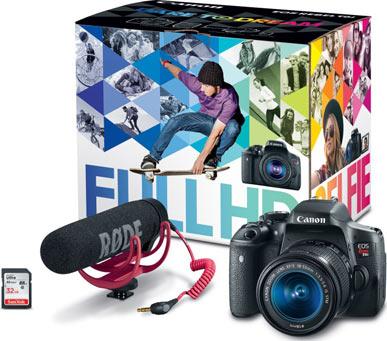 Canon's Video Creator Kit