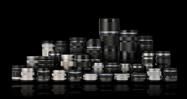 Olympus M.Zuiko Digital and Zuiko Digital lenses