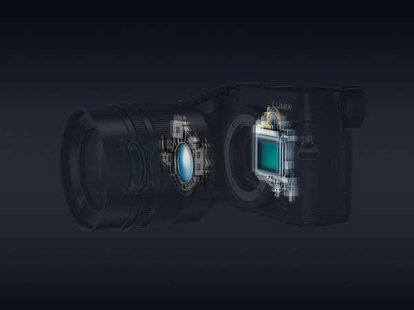 Panasonic GX8: dual image stabilizer