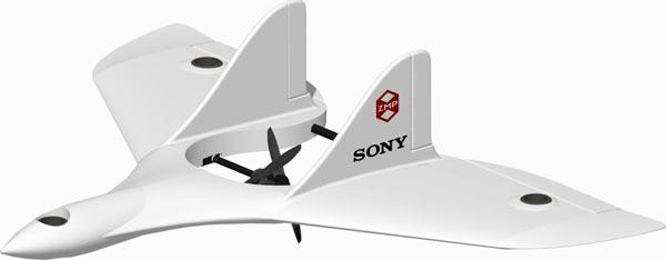 VTOL Drone Prototype for Sony's Enterprise Solutions
