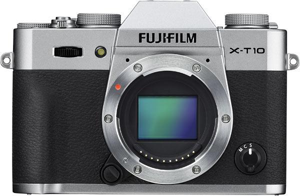 FUJIFILM X-T10 digital camera, silver