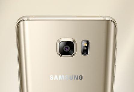 Samsung Galaxy Note 5: Rear Camera