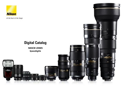 NIKKOR & ACC App Version 1.0.1 for Android tablets