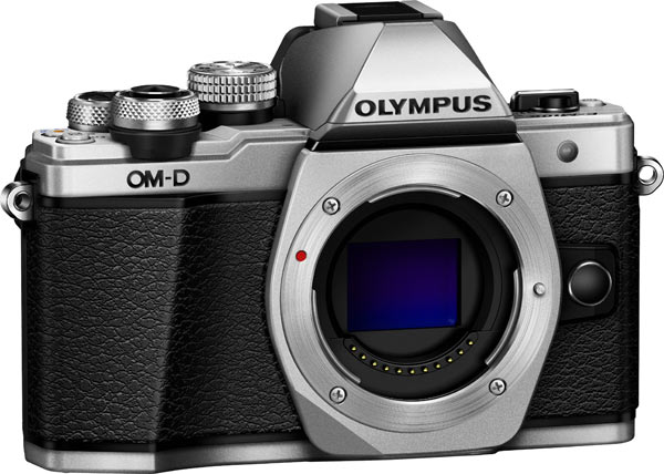 Olympus OM-D E-M10 Mark II, silver: Body only