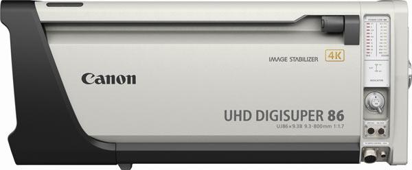Canon UJ86x9.3B (UHD-DIGISUPER 86), white