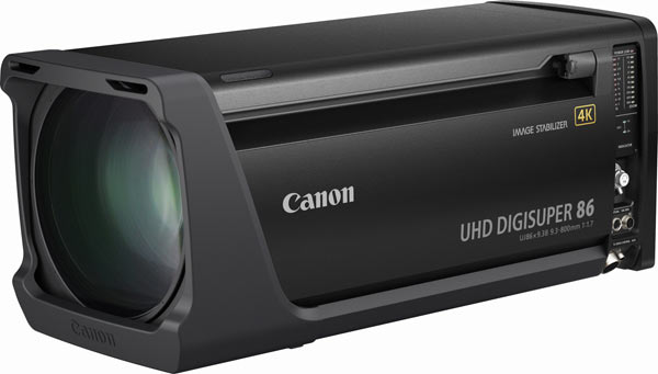 Canon UJ86x9.3B (UHD-DIGISUPER 86)