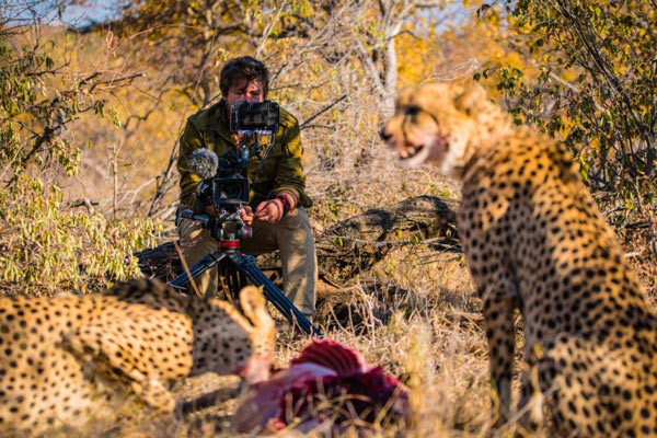 """Russ MacLaughlin @ """"Brian in the Wild"""" Filming: Image by Shannon Benson"""