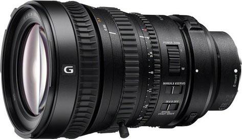 Sony FE PZ 28-135 F4 lens