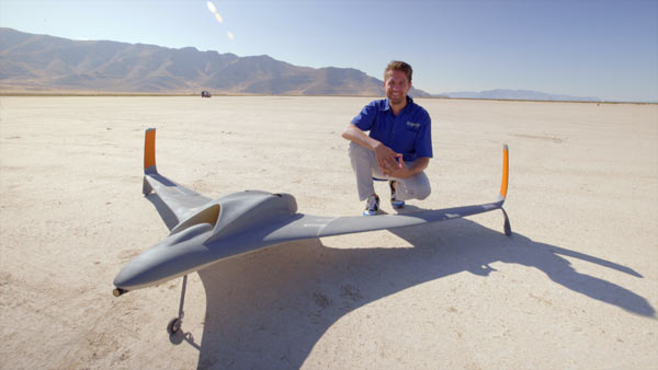 According to Dan Campbell (pictured) from Aurora Flight Sciences, the new UAV is believed to be the largest, fastest, and most complex 3D printed aircraft ever produced: Image Courtesy of Stratasys