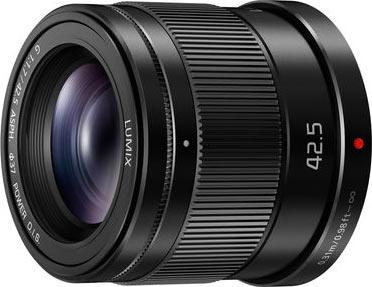 LUMIX G 42.5mm / F1.7 ASPH. Lens with Power O.I.S.: Model H-HS043K
