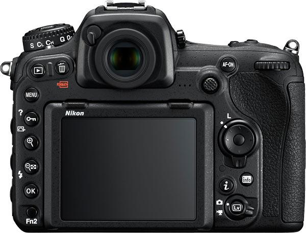 Nikon D500 Back View