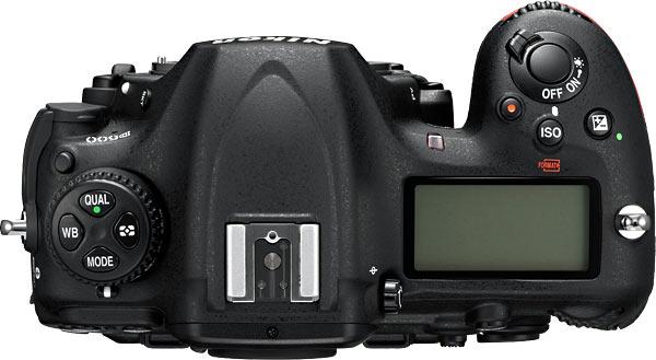 Nikon D500 Top View