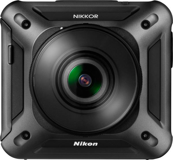 Nikon KeyMission 360, back