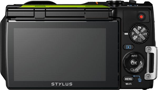 Olympus Stylus Tough TG-870, Metallic Green