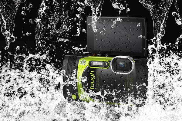 Olympus Stylus Tough TG-870, Metallic Green: Waterproof. Image Courtesy of Olympus