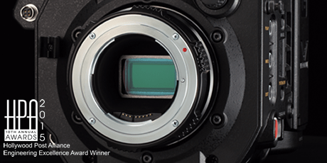 Panasonic VARICAM LT: Super 35 mm Imager and EF Lens Mount* (* Panasonic does not guarantee the compatibility or performance of all EF lenses.)