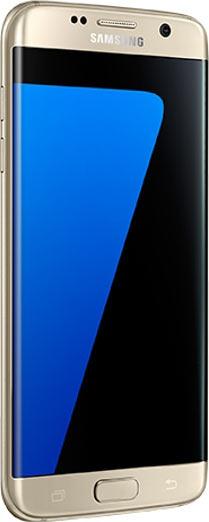 Samsung Galaxy S7 edge, silver titanium